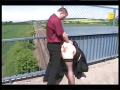 Hot fuck #13 (bbw on the bridge)
