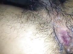 Unloading buckets of cum in his gay ass