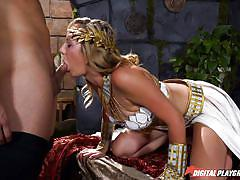blonde, parody, babe, deepthroat, busty, pussy eating, roleplay, digital playground, brett rossi, jay smooth