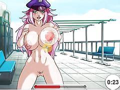 game, anime, big tits, babe, hentai, blowjob, cartoon, big dick, crazy toon sex