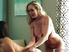 Lesbian lessons from sensual milf @ lesbian adventures - older women younger girls #10