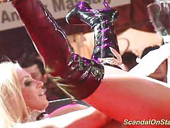 blonde, public, public masturbation, dancing, voyeur, stripping, striptease, masturbation, flexible, european, stage, motorbike, sexshow, sexfair, sextoys, stage show, extreme movie pass
