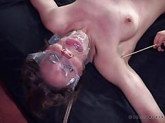 bdsm, babe, fingering, reality show, dildo fuck, mouth gag, rope bondage, real time bondage, sierra cirque