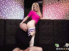 blonde, big ass, babe, ass licking, footjob, big dick, knee socks, big butts like it big, brazzers, jmac, cristi ann