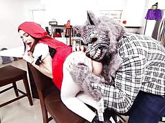 Do not be afraid of me, little red riding hood!