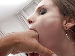 big tits, babe, pov blowjob, brunette, anal fingering, big dick, ball sucking, rocco siffredi, fame digital, rocco siffredi, mary c