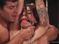 milf, bdsm, big ass, big tits, whipping, anal dildo, submission, ball gag, rope bondage, sex and submission, kink, ramon nomar, tori avano