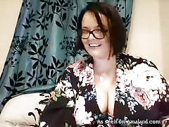 milf, webcam, amateur, masturbation, vibrator, huge tits, brunette, bbw, solo bbw, my bbw gf, the gf network