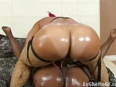Black lesbian sluts strapon fuck