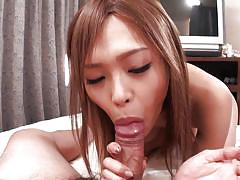 Sensual rina sucks cock like it's delicious