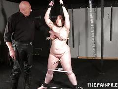 Private dungeon torture to tears of chubby amateur slaveslut nimue allen