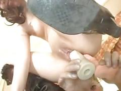 Young japanese anal submission