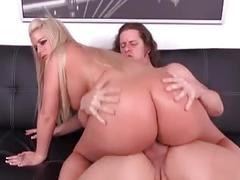 Nice white butt