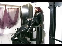 bdsm, big dick, fetish, red head, femdom, big cock, cock torture, female domination, forced, freckles, high heels, humiliation, latex, leather, mistress, painful, slave