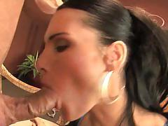 Jennifer dark rough blowjob and fuck on her cunt