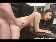 Japanese office lady fucked asian cuckold juc361