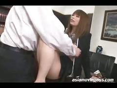 Japanese office lady fucked asian cuckold juc361