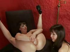 Girlfriends busy destroying their ass part 3
