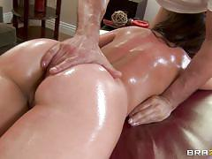massage, babe, round ass, blowjob, oiled, fingering, brunette, dirty masseur, brazzers network, toni ribas, remy lacroix