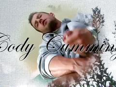 Winter jerking horny hunk cody cummings