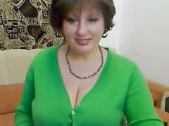 Hot sexy mature on cam