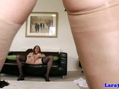 Classy glamour euro matures lesbian sex