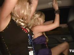 Wild party girls public nudity - scene 5
