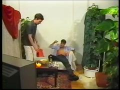 Classic pornvideo from da 90s with groupsex