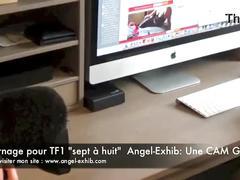 milf, francaise, amatrice, exhibition, exhibe, tele, cam2cam, tf1, masturcation