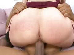 Busty milf enjoys rough sex with young stud