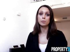 Propertysex - motivated realtor uses sex to land new client