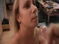 Blonde pussy n anal fucking in pov style
