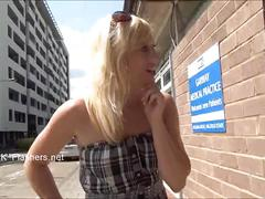 Flashing blonde exhibitionist axa jays outdoor voyeur masturbation and naughty a