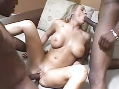 babes, blondes, double penetration, interracial, threesomes