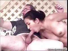 Ed powers oral sex with japanese beauty lieng lu.