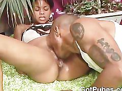 brunette, ebony, small-tits, big-dick, blowjob, gotpubes.com, hairy, pubes, hair, bush, natural, natural-tits, bbc, riding