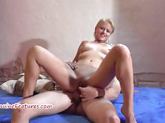 Wild casting girl gives bj and fucks with cute boy