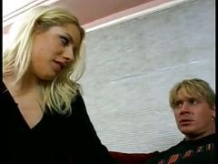 Blond sluts contorts and fucks