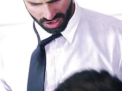 deepthroat, office, kissing, gays, gay blowjob, the gay office, men, dani robles, jessy ares