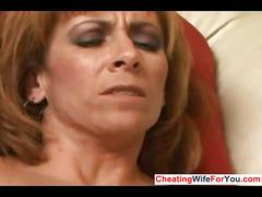 Mature redhead loves to get pounded