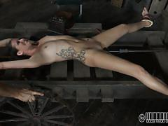 Hot body babe tortured and sexually used