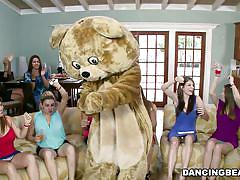 milf, blonde, stripper, costume, cfnm, blowjob, brunette, dancing bear, sex party, jerking off, hunk, dancing bear