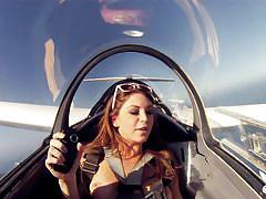 Naked in the airplane @ badass season 3, ep. 2