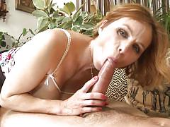 Veronica riding a hard cock