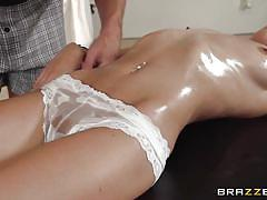 massage, babe, rimming, piercing, oiled, fingering, brunette, sexy lingerie, tits squeezing, dirty masseur, brazzers network, victoria rae black, johnny sins