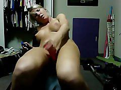 amateur, blonde, masturbation, homemade, busty, big-boobs, phamateur