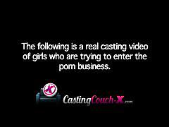 Casting couch-x ashamed 18 year old fucks to pay bills