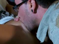 Nasty slut presley hart fucked on the couch