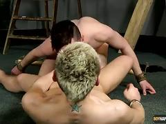 Kinky cock suckers brad and reece