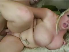 Hot sexy blonde bbw
